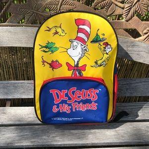 Other - Vtg '97 Dr. Seuss & His Friends Kids Backpack